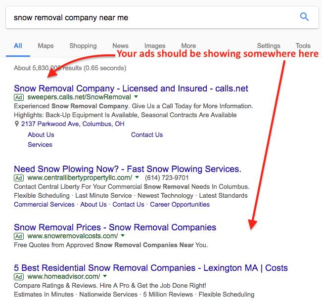PPC ads Google Adwords
