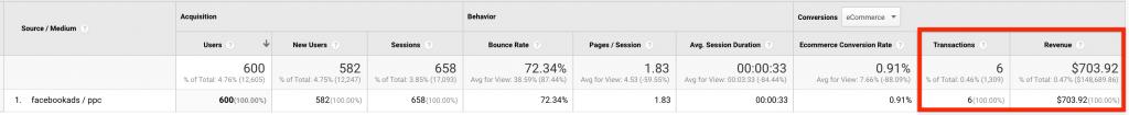 Google Analytics Data Discrepancies with Facebook Ads